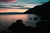 Sunset over yonder (Emil L.) Tags: sunset fjære pink calm moody long exposure water seaweed rocks weed stones mountain silhuette clouds breath taking landscapes
