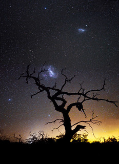 Magellanic Clouds - Cataby, Western Australia