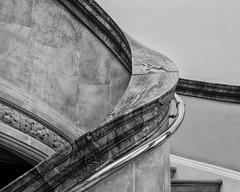 Helter Skelter (adrian.sadlier) Tags: nationallibraryofireland ireland dublin kildarestreet mono stairwell brass marble sweep curve helterskelter