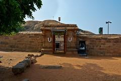 "Malaiyadipatti (Olipathi Vishnu Girugam) Rock-Cut Cave Temple- Pudukottai District. (Kalai ""N"" Koyil) Tags: nikon d 5200 2015 olipathi vishnu girugam malaiyadipatti rockcut cavetemple pudukottai district keeranurkillukkottairoad outerview tamilnadu southindiantemple architecture kalainkoyil 18105mm"