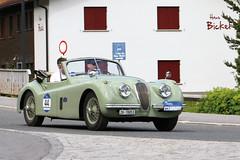 Jaguar XK 120 SE DHC (1953) (Roger Wasley) Tags: jaguar xk 120 se dhc 1953 arlberg car rally 2016 lech austria alps austrian alpine classic