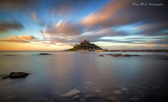 St Michael's Mount Cornwall UK [Explore] (Tracy Ward Photography) Tags: cornwall uk england island remote castle causeway sea seascape landscape clouds canon