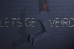 178 Let's get weird  (trendyandcoffee) Tags: secondlife sl photography edition photoshop weird people girl