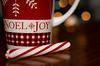 Joy of the Season 341/366 (Watermarq Design) Tags: tea mug red redandwhite peppermint christmas bokeh holidays holiday project366 joy