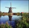 Rollie goes Rotterdam (21) (Hans Kerensky) Tags: rollei rolleiflex t model 3 tlr tessar 135 75mm lens fuji fujifilm reala 100 film scanner plustek opticfilm 120 rotterdam october kinderdijk windmills