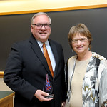Dr. John Shustitzky, Distinguished Alumni Award Professor & Head, Wendy Heller