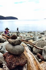 Rock formations: Fortescue Bay, Tasmania