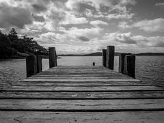 Loch Lomond Jetty (Ben E Matthews) Tags: scotland uk greatbritain loch lomond jetty lake trossachs nationalpark
