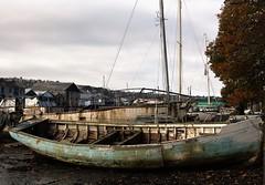 Penryn Quay, Cornwall, (cazzycoffeegirl) Tags: wreckboat quay penryn