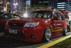 Bagged Forester (Justin Young Photography) Tags: cars manila philippines stancepilipinasmanilafitted subaru forester sh stance slammed hellaflush bagged airsuspension