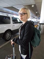 THANX 1184 (RANCHO COCOA) Tags: thanksgiving losangelesinternationalairport lax losangeles la california airport arrivals baggageclaim missy