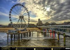 Den Haag, De Pier and D' Ferris Wheel Colour (andrewtijou) Tags: andrewtijou nikond7200 europe netherlands southholland dutch denhaag thehague pier thepier depier ferriswheel