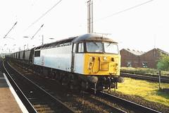 EWS Class 56 56079 - Warrington Bank Quay (dwb transport photos) Tags: ews grid locomotive 56079 transrail warringtonbankquay warrington