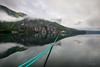 I just can't get enough... (alexring) Tags: sky water oppstrynsvatnet sognogfjordane norway stryn flo mountain clouds mirror rope boat mooring reflection lake moody view morning alexring nikon d750