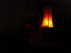 Rustic Lampshade (WR Takiguchi) Tags: lampshade light color countryside dark brazil contrast nikon sigma retro shade room lowlight