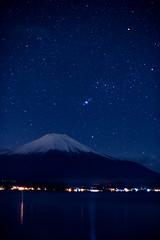 Orion and Fuji (shinichiro*) Tags:    jp 20161209ds40372edit 2016 crazyshin nikond4s planart1450zf fuji orion lakeyamanaka december winter nikhdr