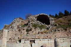 IMG_441a7 (goaniwhere) Tags: ephesus ephesusturkey turkey ancientcity historicsite history rubble ruins grandtheatre libraryofcelsus mycenean