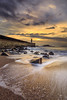 Lighthouse (paulosilva3) Tags: seascape sea sunset ocean waves rocks lighthouse clouds colors canon eos6d manfrotto lowepro lee filters foz do douro farol felgueiras porto portugal