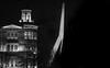 (Kijkdan) Tags: erasmusbrug rotterdam bridge fuji architecture xpro2 35f2 blackandwhite monochrome