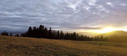 Sunset From The Bözingenberg