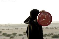 Tick Tock. (Photography Junction) Tags: clock time ticktock concept muslimphotographer me selfportrait conceptualportrait conceptualselfportrait conceptualize nature desert