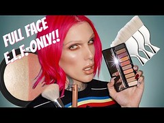 FULL FACE USING ONLY E.L.F. PRODUCTS!! | Jeffree Star (Download Youtube Videos Online) Tags: full face using only elf products | jeffree star