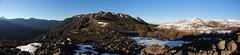Panorama Mirador del Venado (Mono Andes) Tags: chile andes campamento regindelmaule chilecentral enladrillado reservanacionalaltosdellircay volcnazul