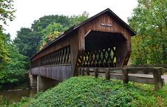 State Road Covered Bridge - Ashtabula County, Ohio (deanrr) Tags: ohiocoveredbridgeashtabulacounty ohioroadwaterstateroadcoveredbridge