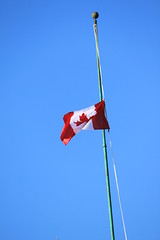 Oh dear, Canada...  [Explored Oct 22, 2014 #24] (cb in bc) Tags: rip compassion explore halfmast ohcanada explored ottawaontario thevolunteer westandonguardforthee explord ohdearcanada saddayforcanadians canadiansmourn 2soldersin2days nationalwarmemorialshooting mycanadaiscompassionate cplnathancirillo moretothinkaboutthis1111 first911now1022 alittleleftofcentre warrantofficerpatricevincent