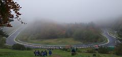 Klostertal-Kurve im Nebel (Ni1050) Tags: auto car fog race corner automobile nebel loop north foggy n voiture