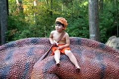 IMG_1711 (operabug) Tags: halloween flintstones museumoflifeandscience bettyrubble barneyrubble bammbamm