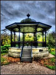 Bandstand... (Len_Scapov) Tags: buxton derbyshire bandstand hdr paviliongardens lenscapov