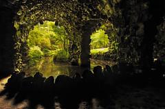 Terra Nostra Cave (KVH-P) Tags: trees reflection portugal water cave azores saomiguel terranostra 2014 sigma1020mm gitzotripod d7000 nikond7000