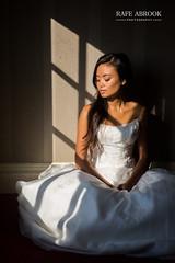 Window Lighting (Rafe Abrook Photography) Tags: wedding light portrait window girl bride warm frame weddingdress bridal bucks marlow warmlight windowlight bridalshoot hedsorhouse