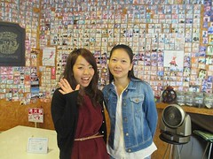 !   !^_^)  The two of this guests became friends because they stayed in the same room, dormitory. This is the attractive (yokohama hostel village) Tags: friends two guests this is room journey same they guest dormitory because  stayed the became attractiveness