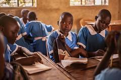 In class | Kenya (ReinierVanOorsouw) Tags: school education classroom kenya class health wash kenia hygiene ngo sanitation kakamega kenyai kisumu beyondborders gezondheid qunia  simavi   beyondbordersmedia beyondbordersutrecht sanitatie ngoproject