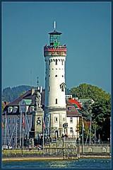Lindauer Hafen 2-1 (GhostOfDorian) Tags: lake bayern deutschland lindau insel hafen bodensee altstadt constance leuchtturm freie bsb lwe historisch lindauer reichstadt bayerischer hafeneinfahrt