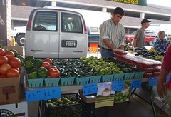 Board President Filiberto Villa Gomez at farmer market (USDAgov) Tags: farmers michigan rd cooperatives nationalcooperativemonth hispanicfarmers smallsociallydisadvantagedproducergrant