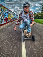14-09_537-Edit_tonemapped.jpg (D-W-J-S) Tags: motion colour electric clouds speed movement grafitti path wheels helmet bamboo powershot rig longboard hdr topaz evolve adjust s100 longboarding photmatix commended viking2014 2014viking members2014