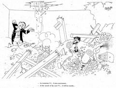 Albert Dubout Album 1944  cartoon V1