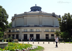 Theatre Marigny in Champs Elysees Gardens (eutouring) Tags: travel paris france gardens garden champselysees theatre marigny theatremarigny jardinsdeschampselysees champselyseesgardens