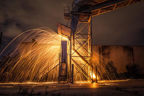 Cement Plant Fire