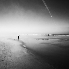 . (. Jianwei .) Tags: travel beach monochrome fog mood sony wa cannonbeach 2014 nex flickrfriday mistandfog kemily