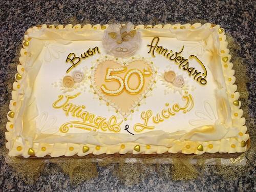 Torta Anniversario 50 Anni A Photo On Flickriver