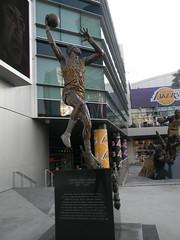 Los Angeles:  Staples Center (kjimbo (Wishes for Peace)) Tags: la kobe bryant lakers kareemabduljabbar staplescenter