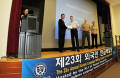 "2014 Hangul Day Korean Language Awards Ceremony (Presidio of Monterey: DLIFLC & USAG) Tags: army south united contest institute management korean states language ambassador foreign gen ret nations lt garrison park"" center"" ""united sook ""army ""republic ""california"" ceremony"" command"" kim"" korea"" ""korean monterey"" ""installation ""former ""korea"" ""foreign ""community"" study"" ""language ""military"" ""video"" ""monterey"" ""defense ""presidio ""student"" ""seoul"" ""korean"" ""language"" jongkyun ""pom"" ""dliflc"" ""imcom"" ""yonsei"" ""dli"" ""fellinger"" ""hangul"" ""essay"" ""rok"""