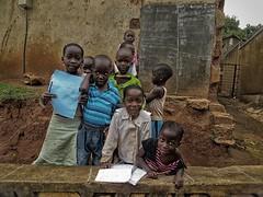 Home schooling (bindubaba) Tags: school children uganda kampala
