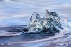 """Jökulsárlón or """"glacial river lagoon"""""""