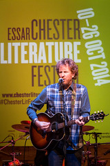 Police Dog Hogan (Mark Carline) Tags: music cheshire chester policedoghogan chesterlitfest