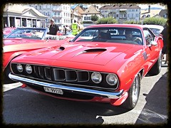 Plymouth Barracuda (v8dub) Tags: auto old classic car automobile muscle plymouth automotive voiture pony american oldtimer mopar oldcar barracuda collector youngtimer wagen pkw klassik worldcars